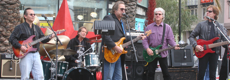 Greg Kihn with the Robert Berry Band